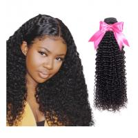 22 Inches Bundles With Closure Kinky Curl For Remy Indian Hair Extensions