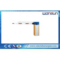 RS485 Communication Interface Automated Barrier Gate for Car Parking System