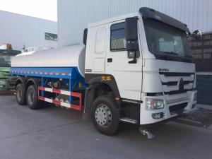 China 6 X 4 20000L 371hp Water Tank Truck With Spray System Of Sinotruk Howo7 on sale