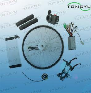 China Reliable Electric Bike Lithium Battery , 24V / 36V / 48V Ebike Kits on sale