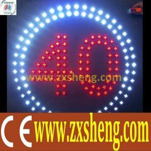 China traffic led sign on sale