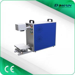 China Stainless Steel Laser Engraving Machine , Fiber Laser Etching Machine For Jewelry on sale