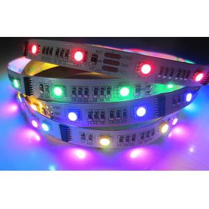 Quality White Red Green SMD 5050 Cove Flexible LED Strip Lights 12V / 24V 90 pcs/m for sale