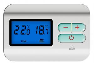 China Non - Programmable Wireless Thermostat , Thermostat For Boiler Heating System on sale