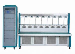 China High Precision Three Phase Energy Meter Test Bench with Double Row 12 / 16 / 20 Meters on sale
