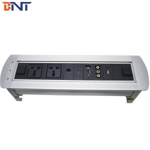 China 1.5m cable length multimedia flip up table outlet with rca interface used in audio system EK9522 on sale