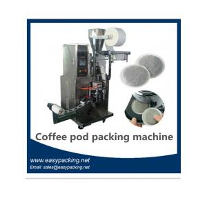 China full automatic coffee pod filling and sealing machine casuple coffee pod machine /coffee maker on sale