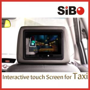 China Touch Screen Tablet Taxi Advertising Player on sale