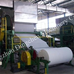 China Model 1760 toilet paper roll making machine on sale