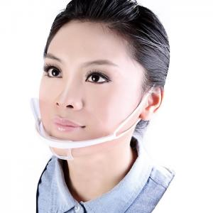 China Transparent Plastic Sanitary Surgical Clear Face Mask , Disposable Medical Face Masks  on sale