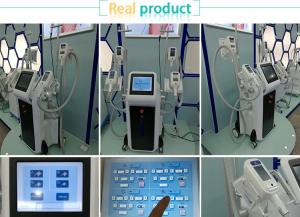 China 4 Handles working in the same time  cryolipolysis fat freezing equipment  for body slimming in discounting spa/clinic on sale