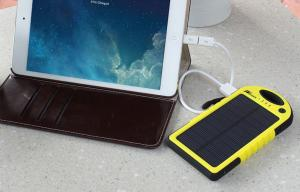 China Waterproof Mobile Mini USB Portable Charger Li-Polymer Dual USB / Micro Ports on sale