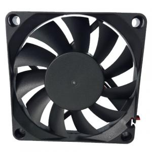China CPU DC Exhaust Computer Case Cooling Fans 70 × 70 × 15mm 4000rpm Speed Low Noise on sale