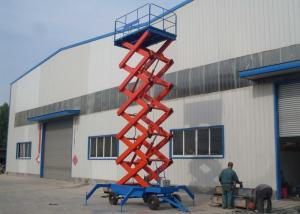 China Movable and Self Propelled Hydraulic Scissor Lift Platform / Mobile Aerial Working Platform on sale