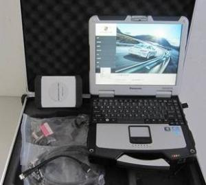 China Porsche PIWIS Tester II  Diagnostic Tools with Panasonic CF30  PC Kit & Software Free Shipping on sale