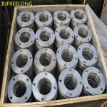 High pressure titanium flange large diameter  titanium flange gr1 gr2 gr5 titanium flange ring used for oil pipeline