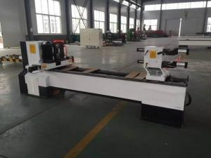 China HR-1350 CNC Wood Lathe Machine , CNC Wood Carving Machine With Stepper Motor on sale