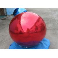 Branding Decoration Inflatable Red Mirror Balloon For Indoor And Outdoor Event