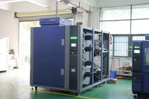 China Air To Air Thermal Shock Chambers , Environmental Test Chamber For Automotive Testing supplier