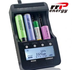 China Fast Charger LCD Battery Charger Lithium Ion NIMH NICAD AA AAA 5V 1A USB Port on sale