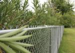 GBW Chain Link Fence Fabric Temp Portable Panels & Barricades 11-1/2 Gauge