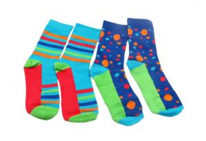 China Soft Trendy Mens Socks Colorful Funky Cotton Fashion Patterned Socks Custom Make on sale