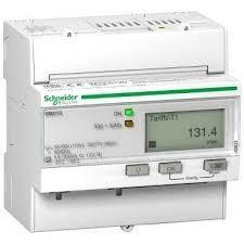 China Acti 9 IEM 3115 Schneider Electric Energy Meter A9MEM3115 63A White Color on sale