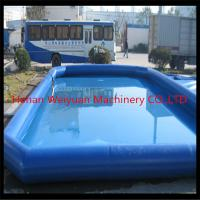 Certificated kids&adults inflatable swimming pool,large above ground inflatable pool