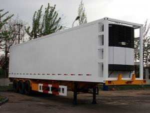 China Refrigerated Semi-Trailer, Container Frame Type B9300XLC on sale