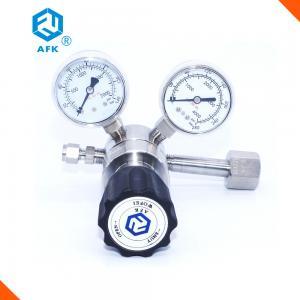 China Adjustable Stainless Steel Pressure Regulator , Gas Cylinder Regulator For Nitrogen on sale
