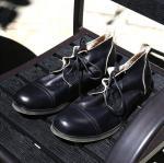 Шнурок ботинок платья полированных заканчивая людей кожаный - вверх по Хандмаде итальянским кожаным ботинкам