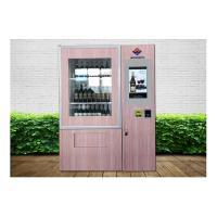 Alcohol Salad Juice Vending Machine With Elevator , Automated Self Service Vending Machines