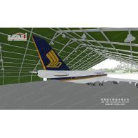 20x20m Aluminum Aircraft Hangar Tents With Sliding Doors Sandwich Hard Walls