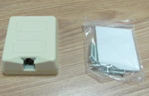 China RJ11 2 contact wall mount socket  Toolless Telephone Socket Waterproof C211707A on sale