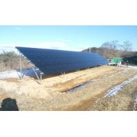 solar panel ground mounting bracket, solar panel ground
