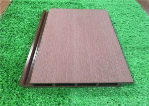 China Plastic External Wood Cladding Panels / Vinyl Exterior Wall Cladding Eco Friendly on sale