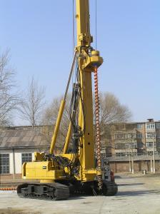 China Hydraulic Piling Rig SINOVO TH60 Drilling Diameter 300MM on sale