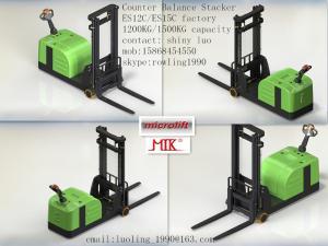 China Counter Balance Electric Stacker, ES10C/ES15C, 1000kg/1500kg on sale