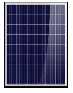 China PV Black Polycrystalline Solar Panel 72 Cells 300w 310w 320w With CE RoHS Approval on sale