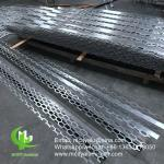 exterior custom made great wall panel Aluminum perforated panel for wall panel curved folded panel