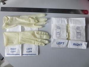 China Powder Free Sterile 9MPa 6.5 General Purpose Vinyl Gloves on sale