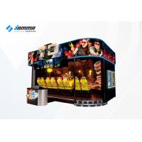 Indoor 7D Cinema Simulator Theater Equipment Special Effects Motion Chairs