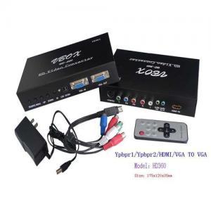 China HDMI Ypbpr VGA RCA Audio L/R To VGA Audio Converter on sale