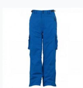 China Elastic belt adjustable snowboard suspender bib ski pants. on sale