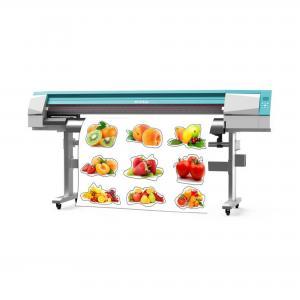 China Electronic automatic digital print and cut machine sticker print and cut machine on sale