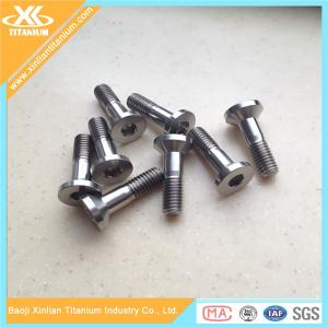 China China Factory Directly Supply Titanium Hex Socket Pan Head Screws on sale
