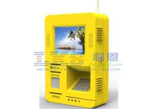 China Quiosque interativo fixado na parede da tela de toque com listra magnética/cartão do RF/IC on sale