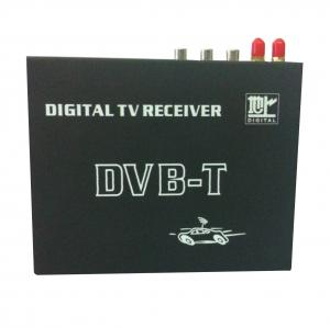 China DVB-T SD MPEG2 MPEG-4 HD UHF470MHz - 862MHz Tuner TV Digital Television Receiver With OSD MENU on sale