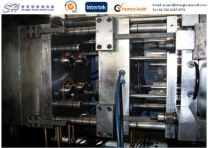 China Prototype Custom Injection Molding , Plastic Shaker Bottle Caps Thread Injection Mold Maker on sale