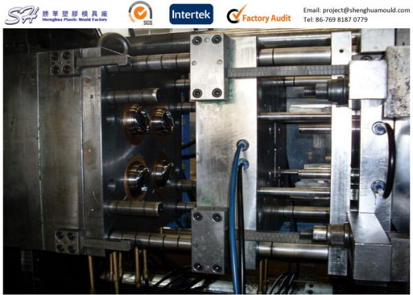 Custom Homopolymer PP Cup Lid Injection Mold with Unscrewing